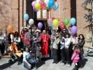 Festa con genitori e bimbi battezzati nel 2009