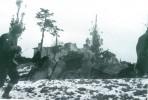 Chiesa Montefortino durante la guerra