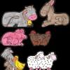 Gli animali del presepio